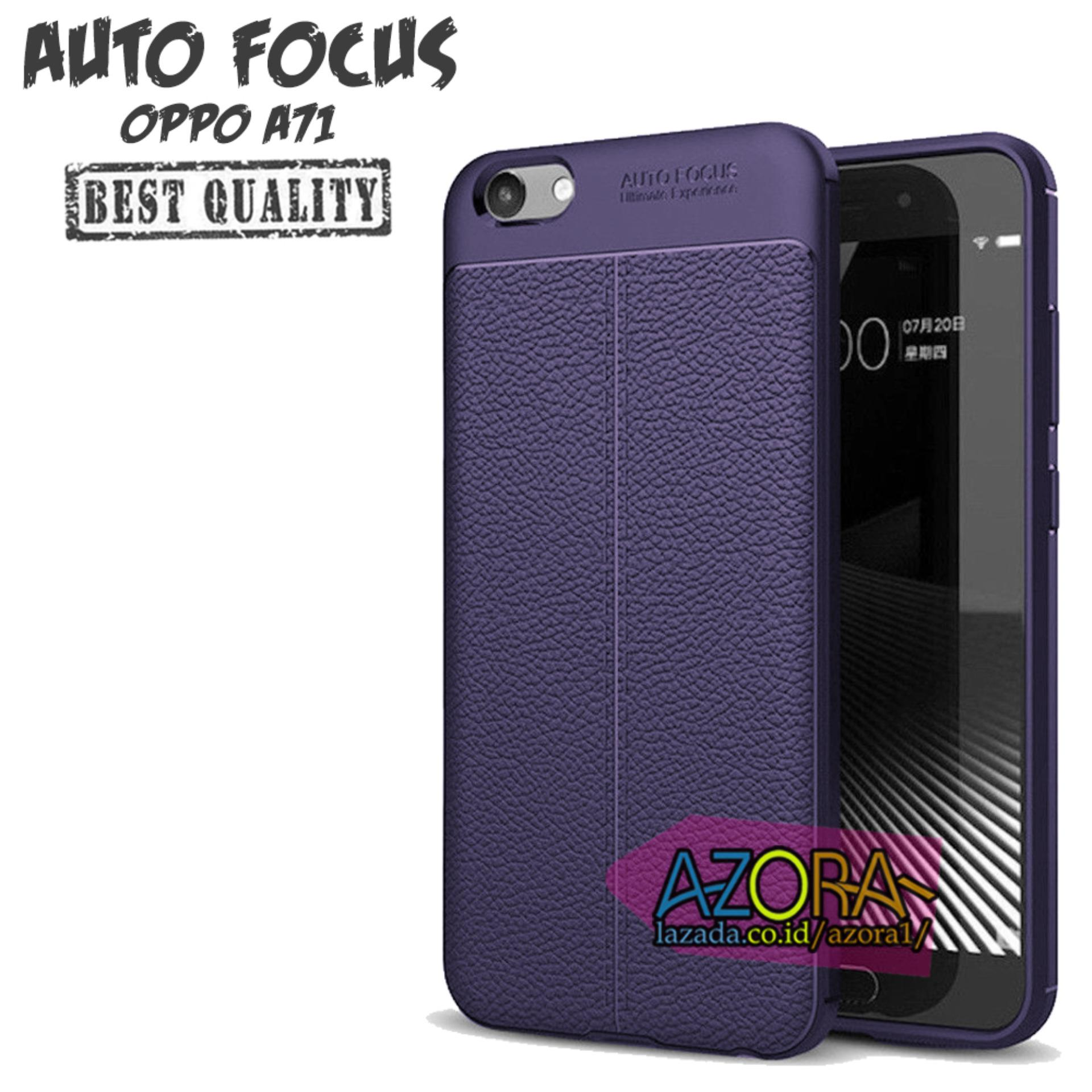 Case Auto Focus Oppo A71 Leather Experience Slim Ultimate