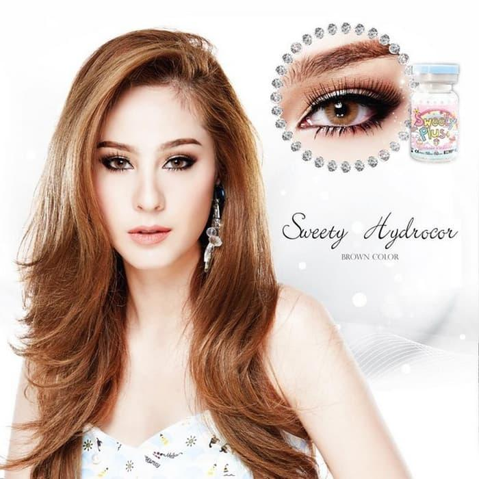 Promo - ORIGINAL Softlens Sweety Hydrocor Brown (Coklat) Original