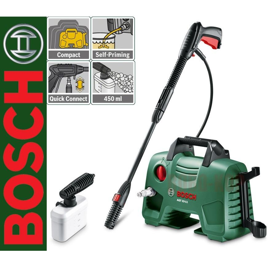 BOSCH AQT 33-11 Mesin Jet Cleaner / Alat Cuci Mobil Aquatak AQT 110