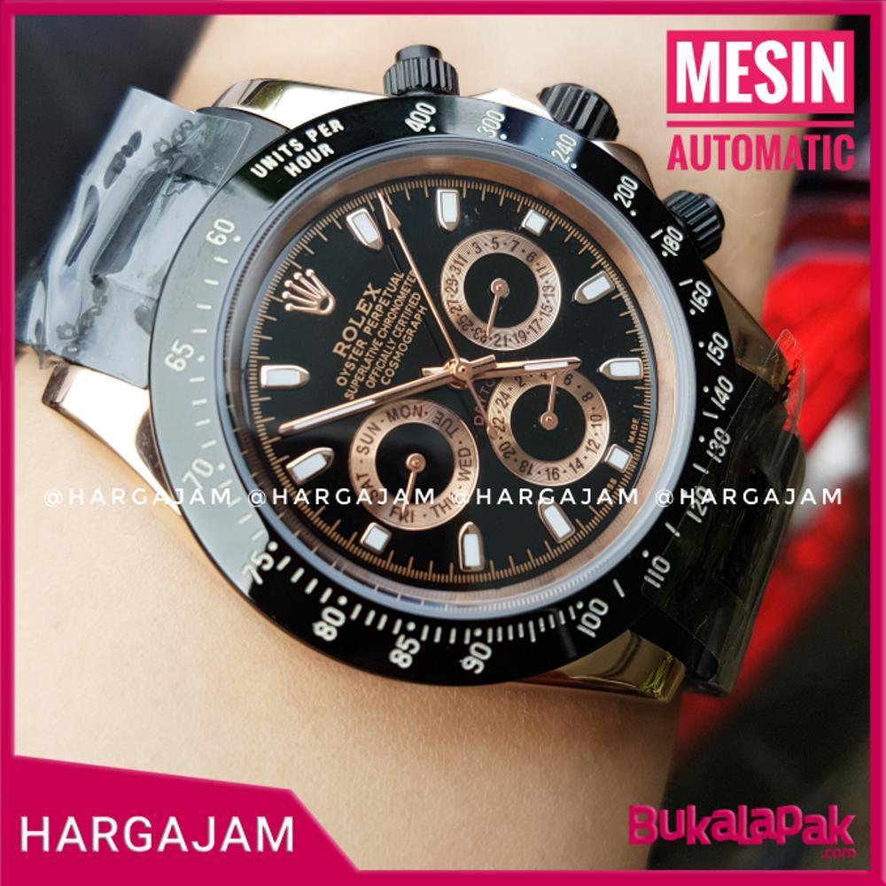Jam Pria Automatic Rolex Oyster Perpetual Chain Chronograph (Hargajam Harga Jam Matic)