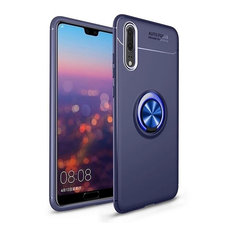 Cover Huawei P20 Pro 360 Rotating Finger Ring Soft Case