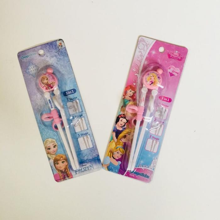 Training Chopstick Sumpit Disney Biasa untuk Anak dan Balita Belajar KIMAKIDS01