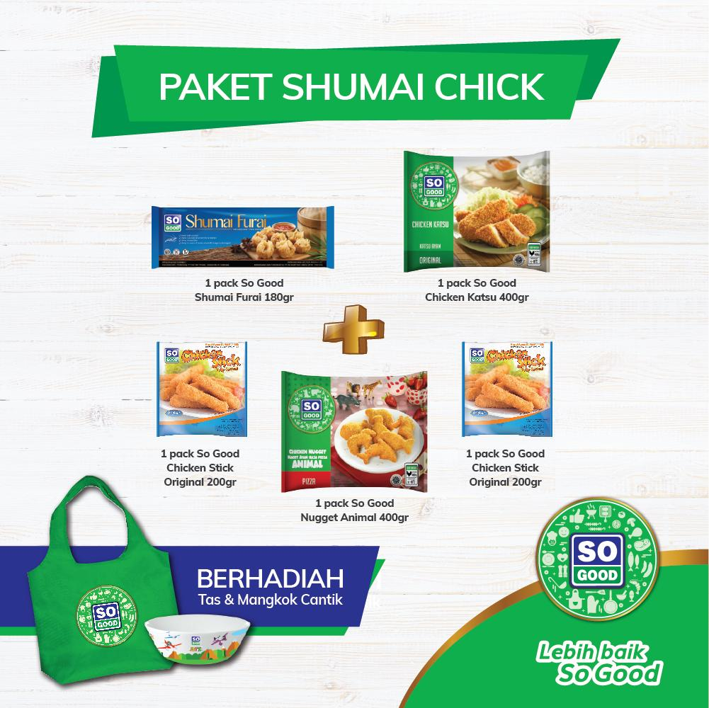 SO GOOD NUGGET PAKET SHUMAI CHICK