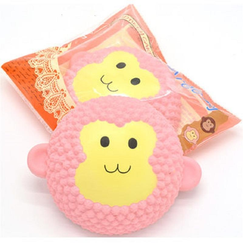 Squishy Jumbo Monkey Cake 15cm Scented Slow Rising Original Packaging Collection Gift Decor