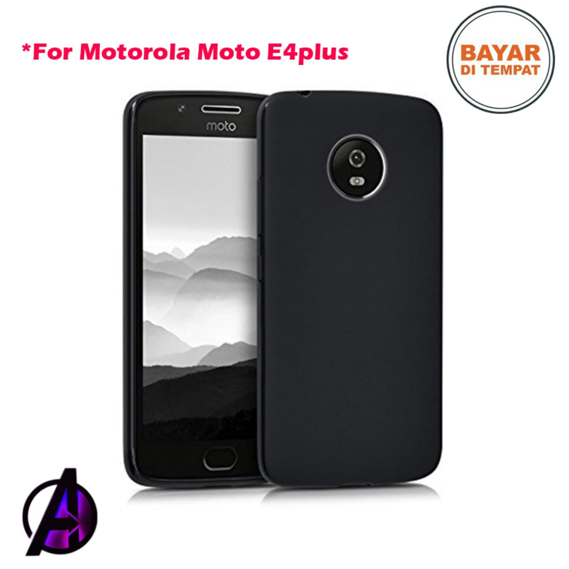 Case Black Matte Soft Slim Motorola Moto E4 Plus / E4+