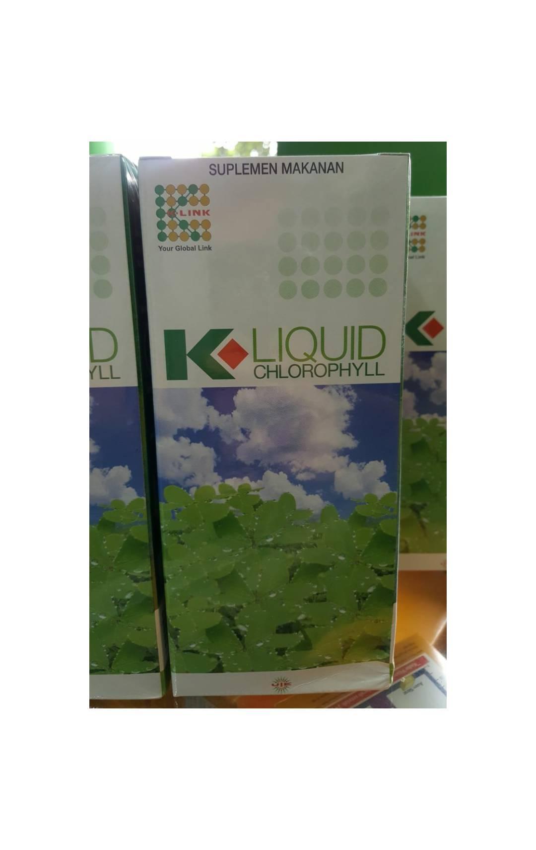 Klorofil Liquid K-Link   ASLI ORIGINAL   Expired Date September 2019