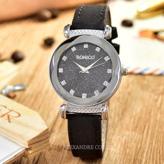 Jam Tangan Wanita Casual BONICO - BNC 5111L - Leather BandIDR49000. Rp 49.000