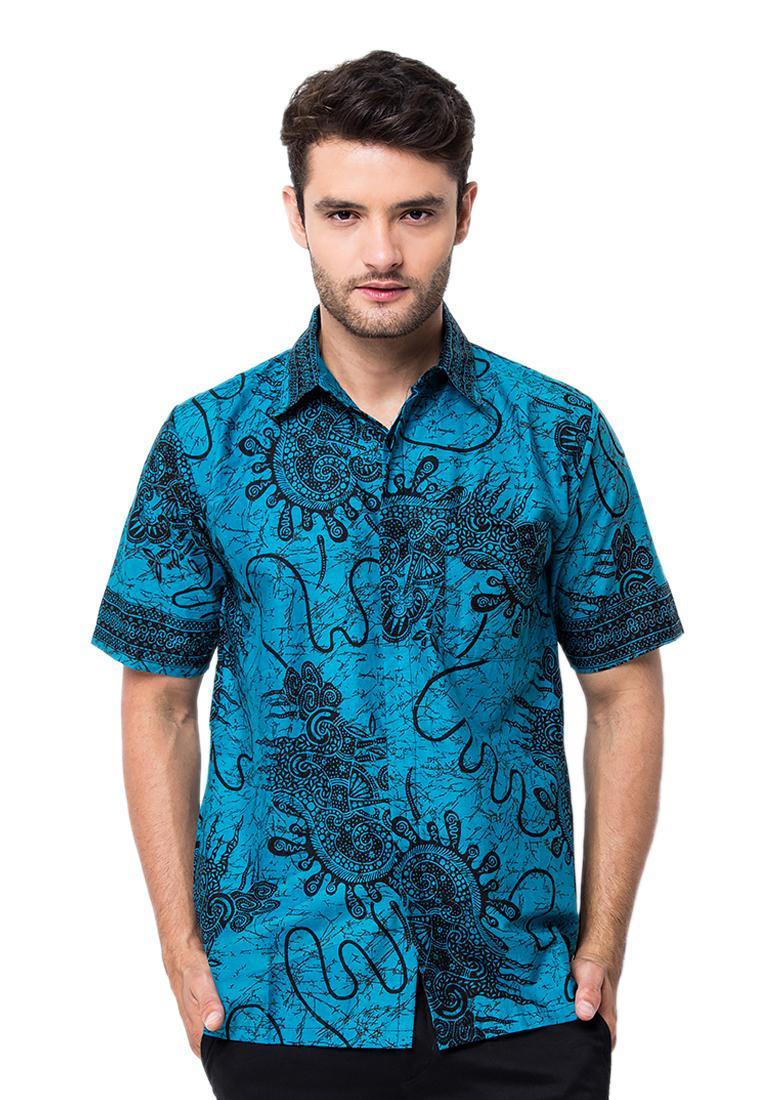 Batik Trusmi - Hem Katun Printing Motif Snail d62c17e4a6