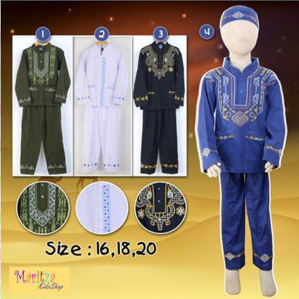 Baju Muslim   Koko Anak 6   10 tahun High Quality
