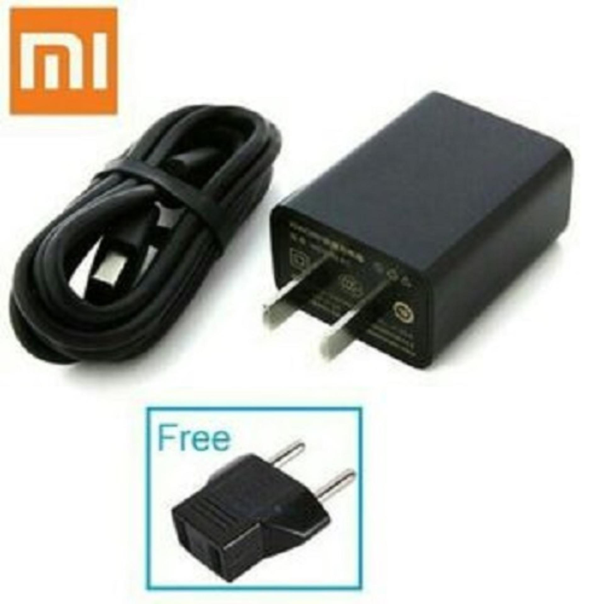 Charger For Xiaomi Redmi Note Micro USB 2A Charger - HITAM - bisa untuk Xiaomi Redmi Note 2 3 4 Max Redmi 1 1s 2 2A 3 3S Pro 4A 4 Prime 4X 5 Mi 1 1S Mi 2 2S Mi 3 Mi 4 4i 4c 4s Lenovo A2020 A1000 A7000 A6600 A6000 A5000 K800 K900 VIBE SHOT