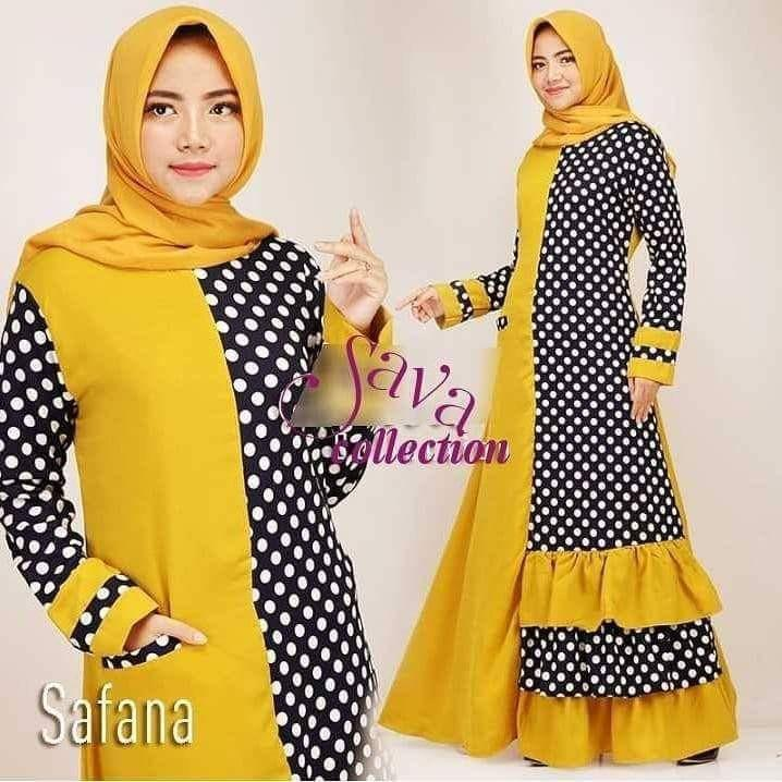 JAKARTA GROSIR -  savana POLKA dress sf Fashion Dress / Atasan / Tunik / size M, L dan XL