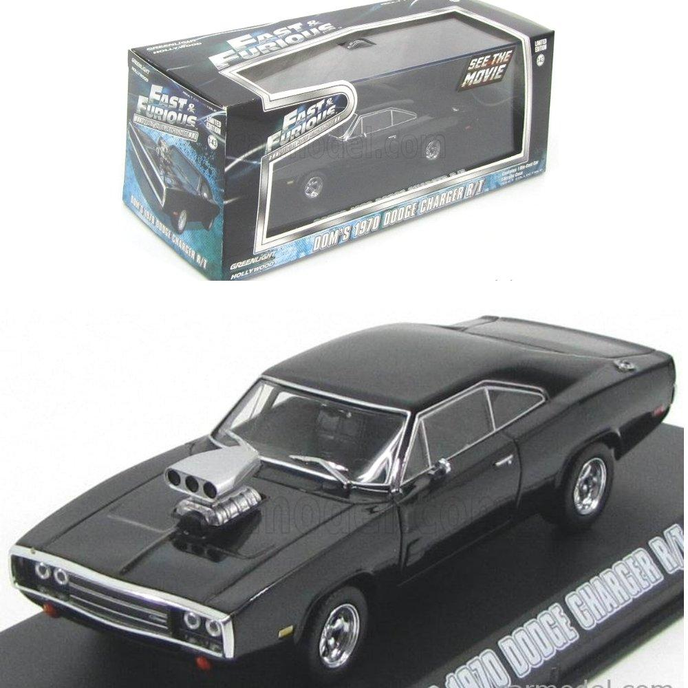 Greenlight Fast Furious Dom 1970 Dodge Charger RT  # Vovo Toys vovotoys