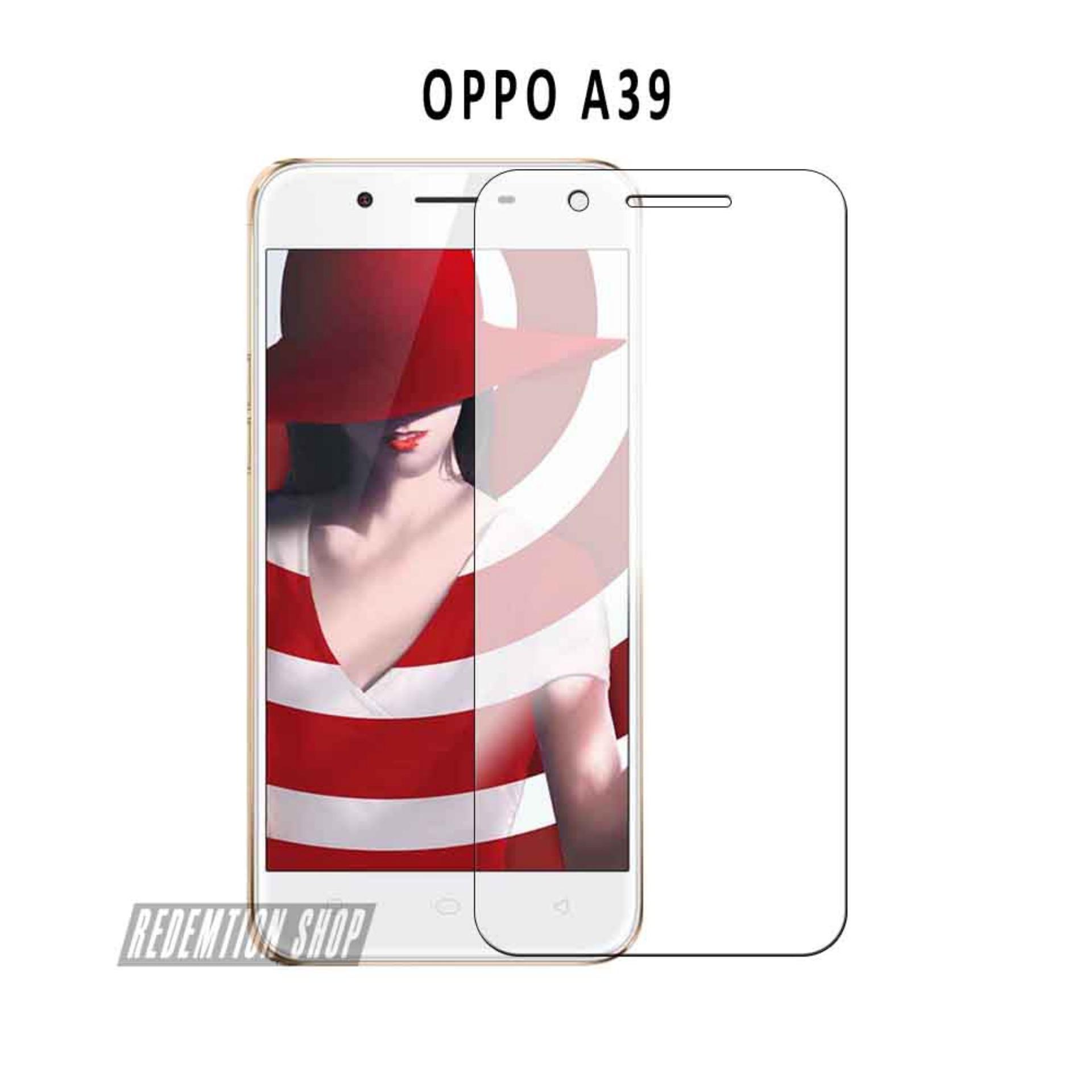 Tempered Glass OPPO A39 Universal Pelindung Layar OPPO A39 Anti Gores Kaca Bening Aksesoris Handphone