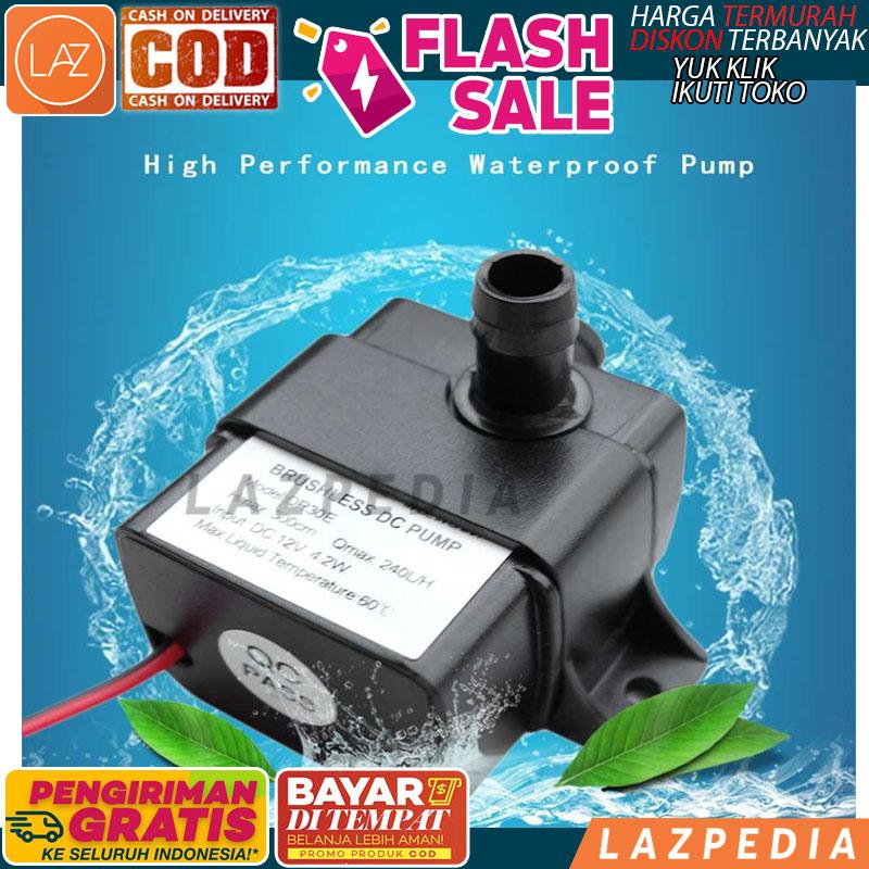 Laz COD - Pompa Air Aquarium Ikan Ultra Quiet Submersible Pump Fish Tank - Lazpedia /