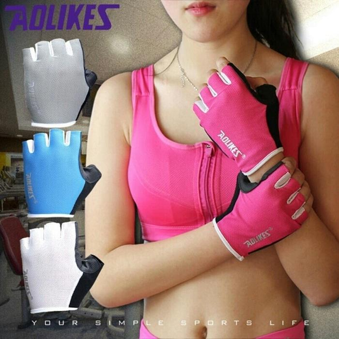 ASLI!!! Sarung Tangan Aolikes - Gloves Exercise Training Gym - 76XKYY