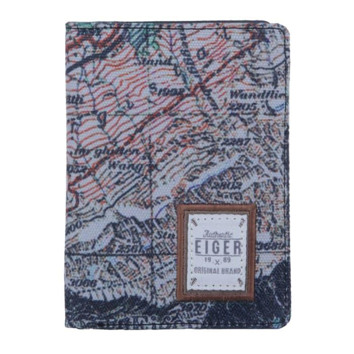Harga Diskon!! Dompet Pria Eiger Classic Routes Vertical - ready stock