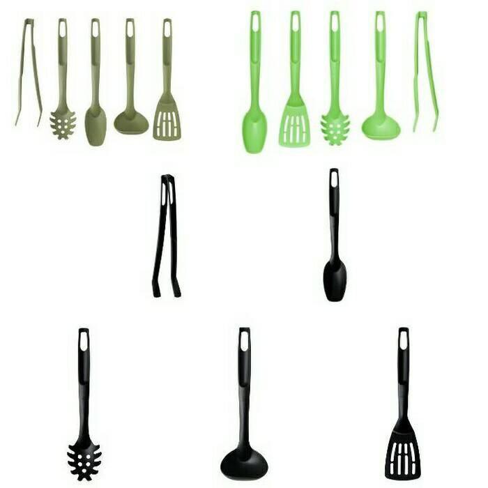 Ikea Speciell 5 Pcs Kitchen Utensil Set- Set 5 Unit Alat Dapur - Krlxgk