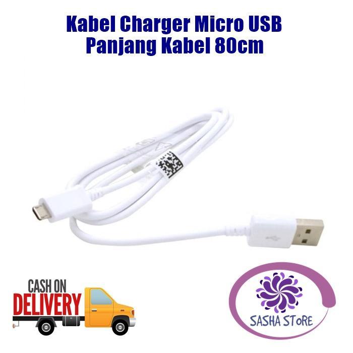 SS Ecer Kabel Charger Micro USB / Kabel Charger Samsung Xiaomi Vivo Oppo Asus Zenfone Kabel