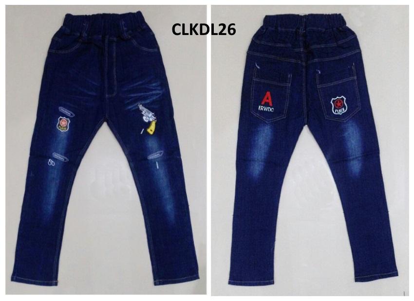 CLKDL26 - Celana Panjang Anak Cowok Tanggung Gun Police untuk USIA 6 - 11Thn
