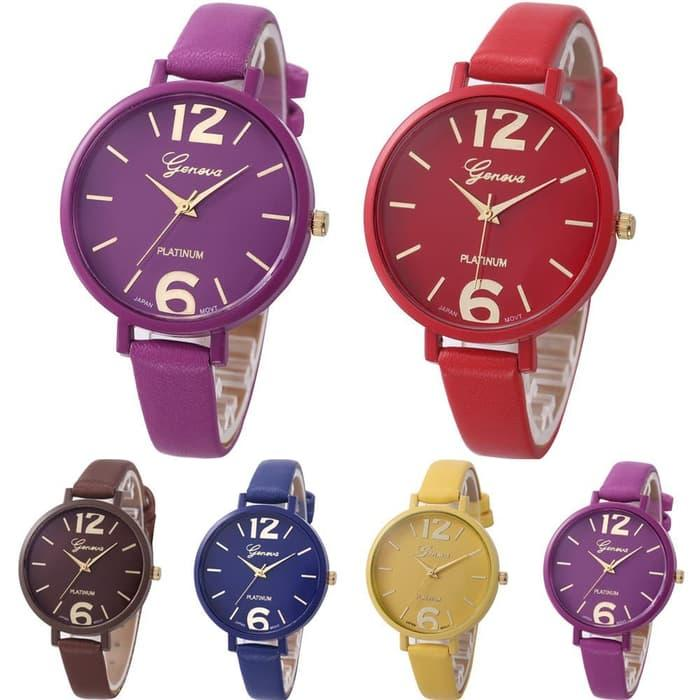 Geneva 270 Jam Tangan Wanita Analog Diamond Fashion Casual Lady Wrist Watch
