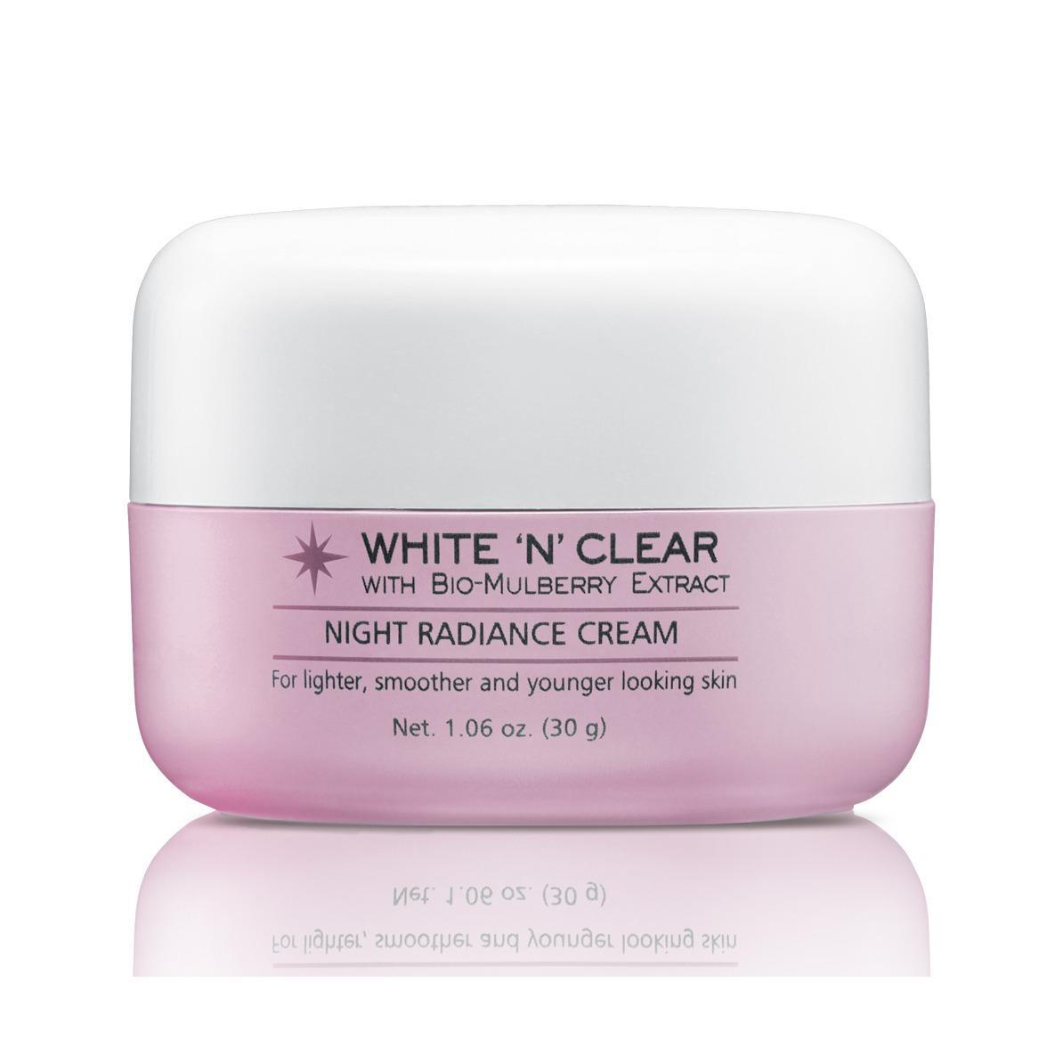 Biokos Bio White 'N Clear Night Radiance Cream New 48/30 - Krim Malam