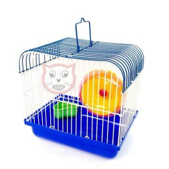 Pencarian Termurah Kandang hamster tupai reptil HM 01( panjang 22cm , L. 15cm, T 20cm ) free mainan berputar Untuk hamster dan tempat makan seperti digambar ...