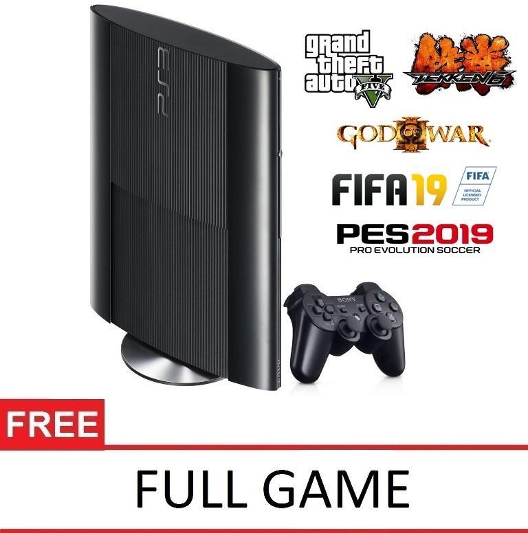 SONY Playstation 3 Super Slim 500GB OFW - Full Game