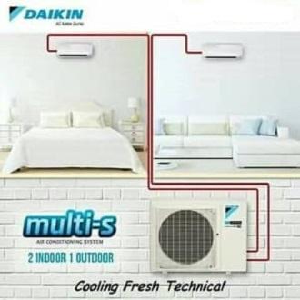 AC DAIKIN MULTI S / 2 MKC 30 QVM4 1/2PK+ 1/2PK INVERTER 2INDOOR