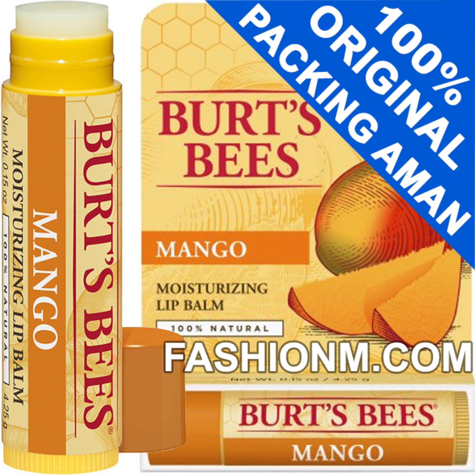 Burts Bees Mango Lip Balm (with Packaging)