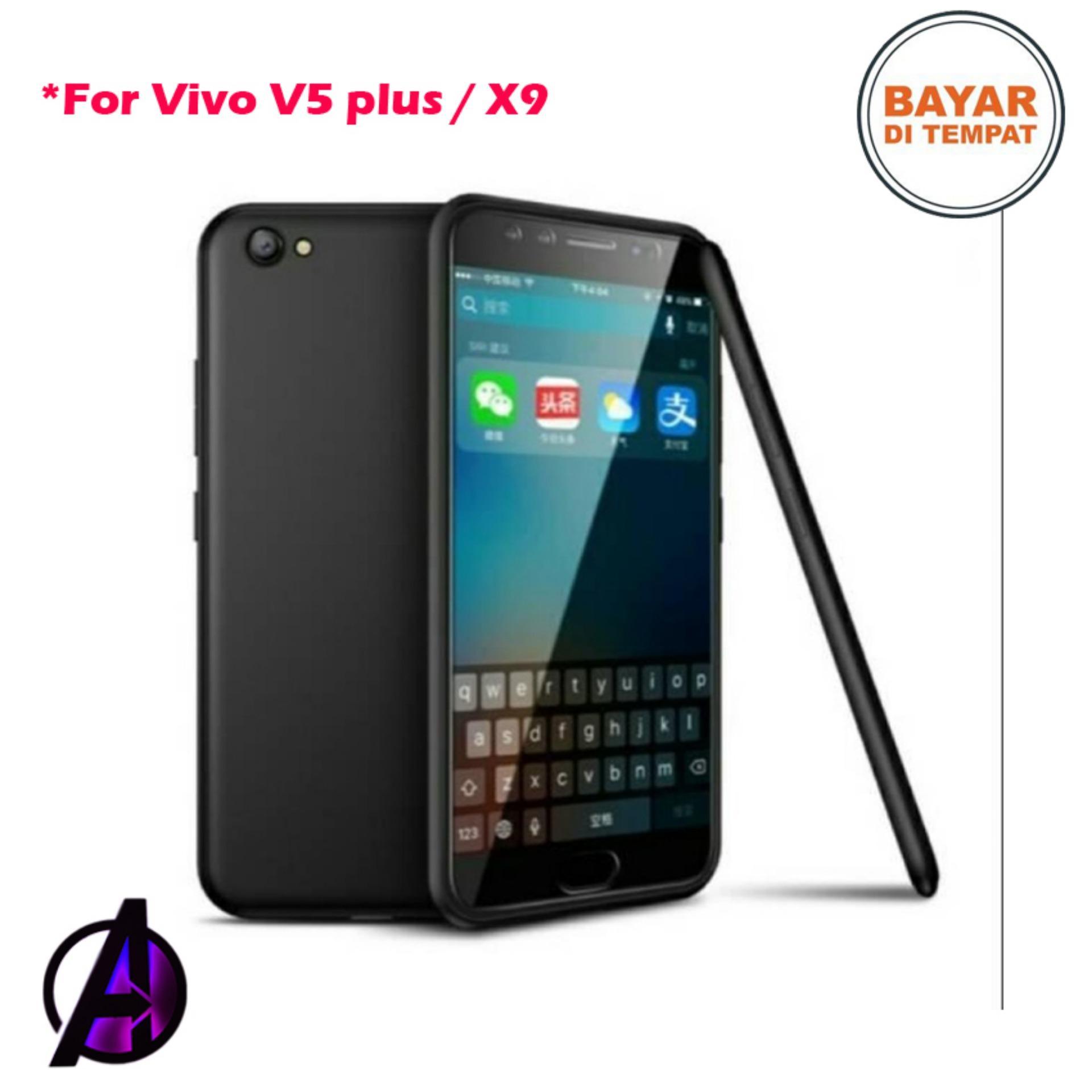 Case Black Matte Soft Slim Vivo V5 Plus / X9