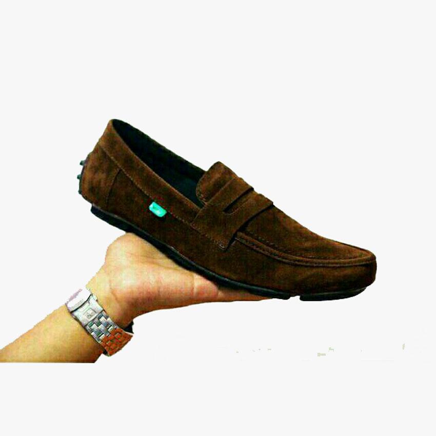 Sepatu Casual KICKERS SlIp On Loafers Pria kerja Santai Murah c3041c24e3