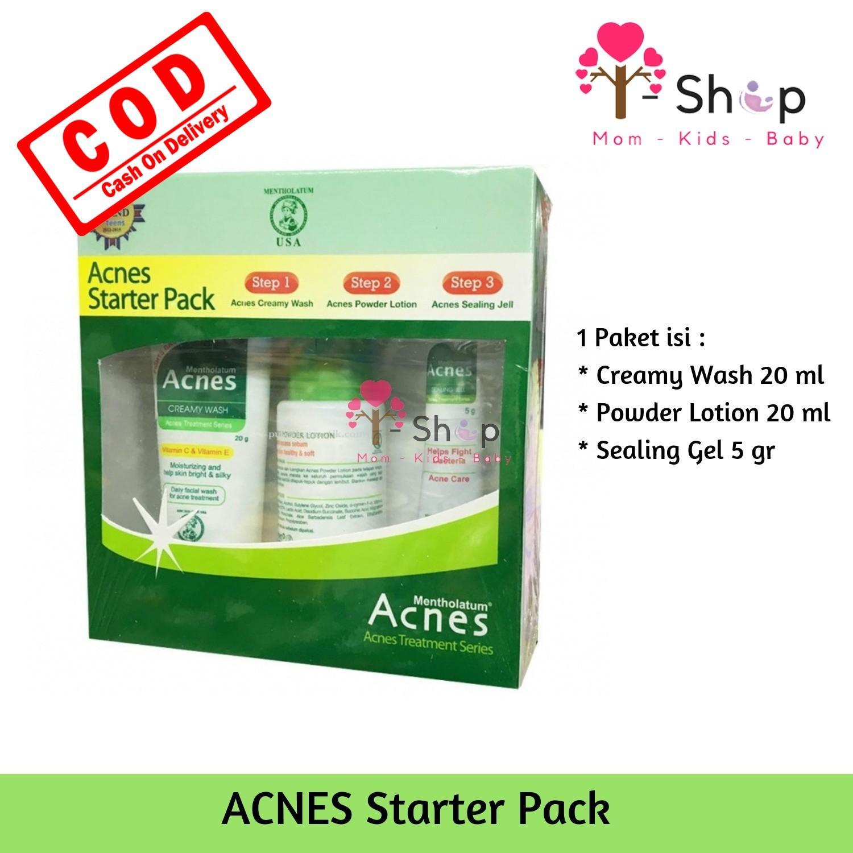 Jual Produk Acnes Terlengkap Sealing Gel I Shop Starter Pack Paket Perawatan Wajah Berjerawat