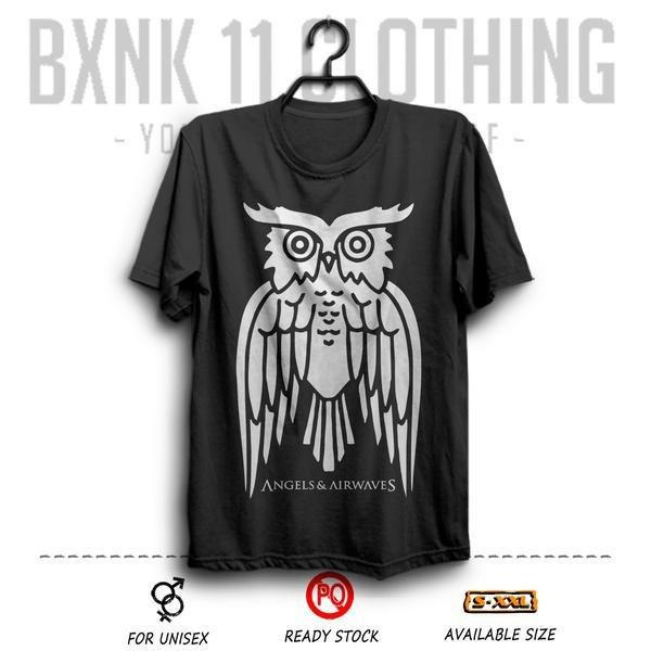 Kaos Band Angel And Airwaves # 2 ukuran Besar BIG Size XXXL ( Ava / K
