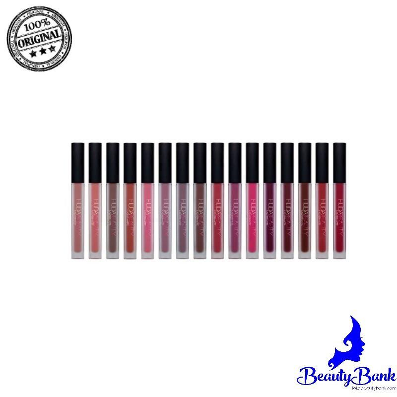 Huda Beauty Liquid Matte Lipstick Variasi Trophy Wife