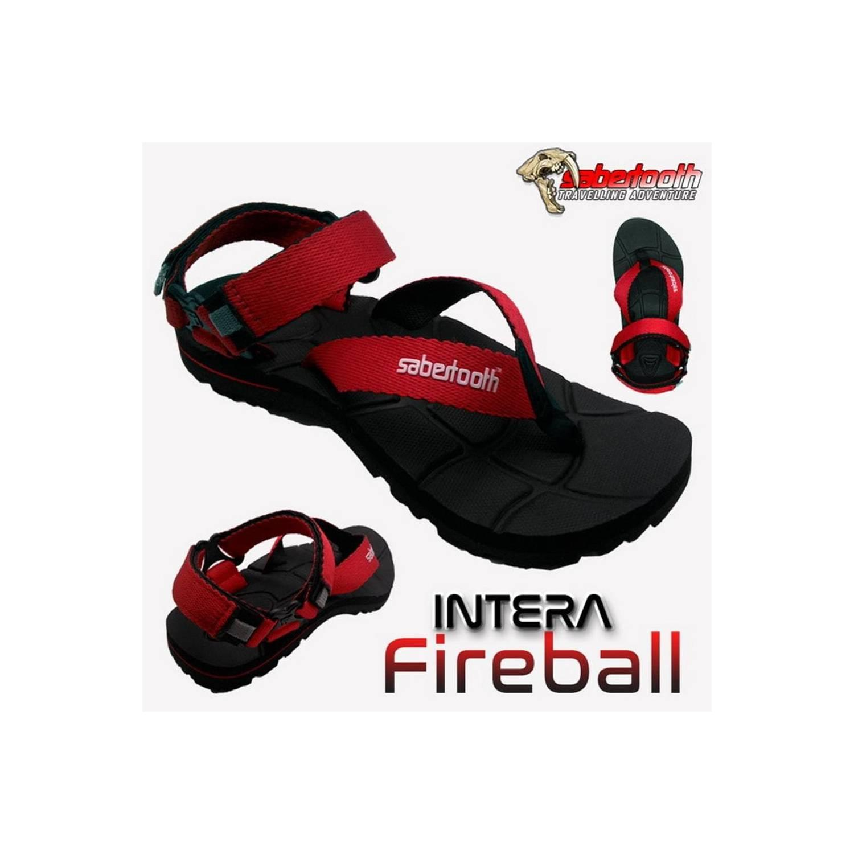 TERBATAS SABERTOOTH Sandal Gunung Traventure Intera Fireball Size 32