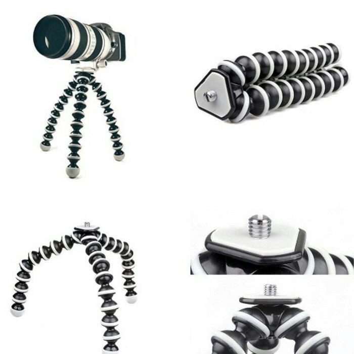 Gorilla Pod L Large BiG Tripod Flexible untuk Go Pro, DSLR, SJ Cam / Aneka Tripod Terbaru / Tripod Kamera Murah Terlaris / Tripod Kamera  Terbaru