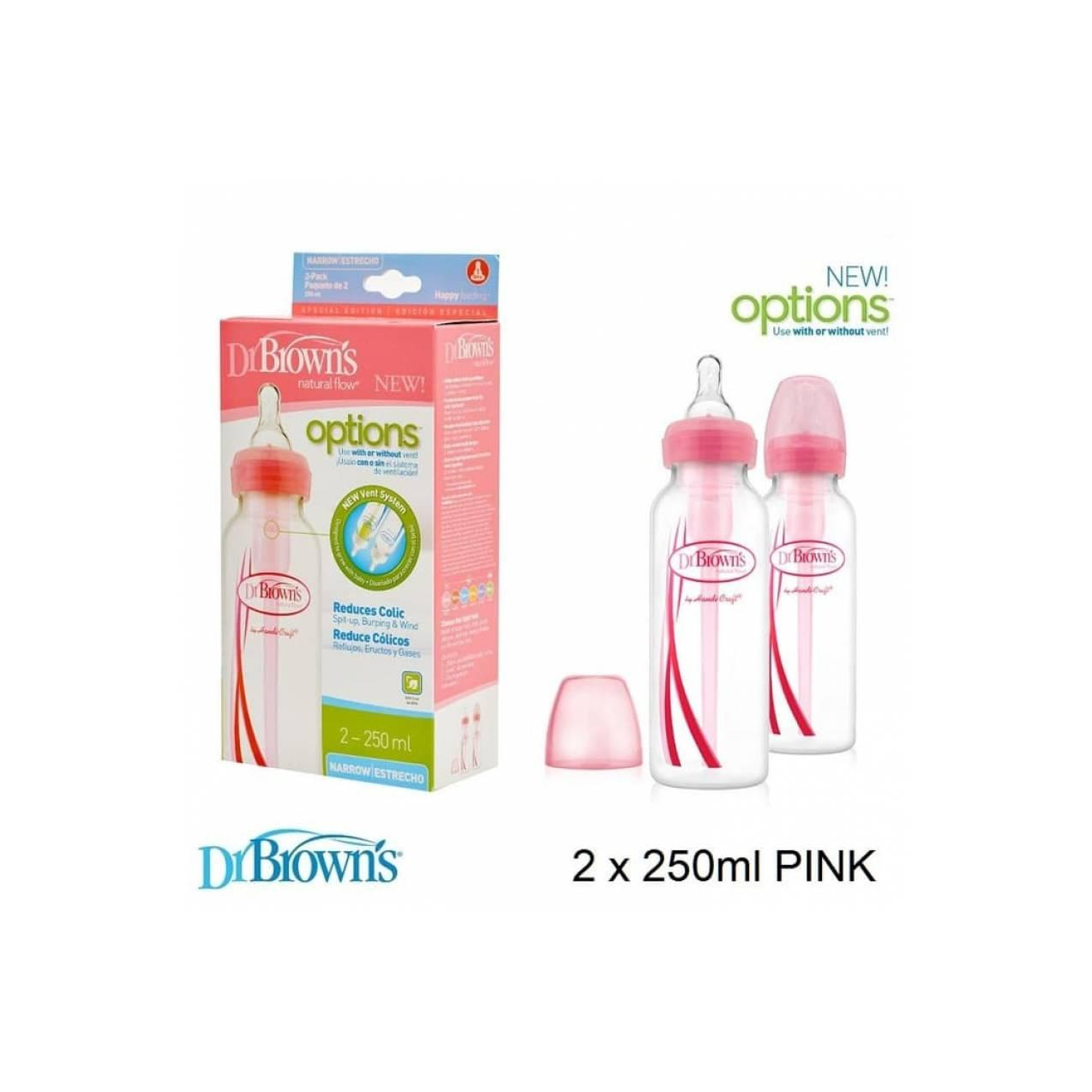 (Baby Club Itc Bsd) Dr.Brown Option Narrow Bottle Std 250ML