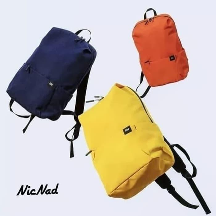 PALING LARIS  Xiaomi Trendy Solid Color Lightweight Water Resistant - Mini Backpack