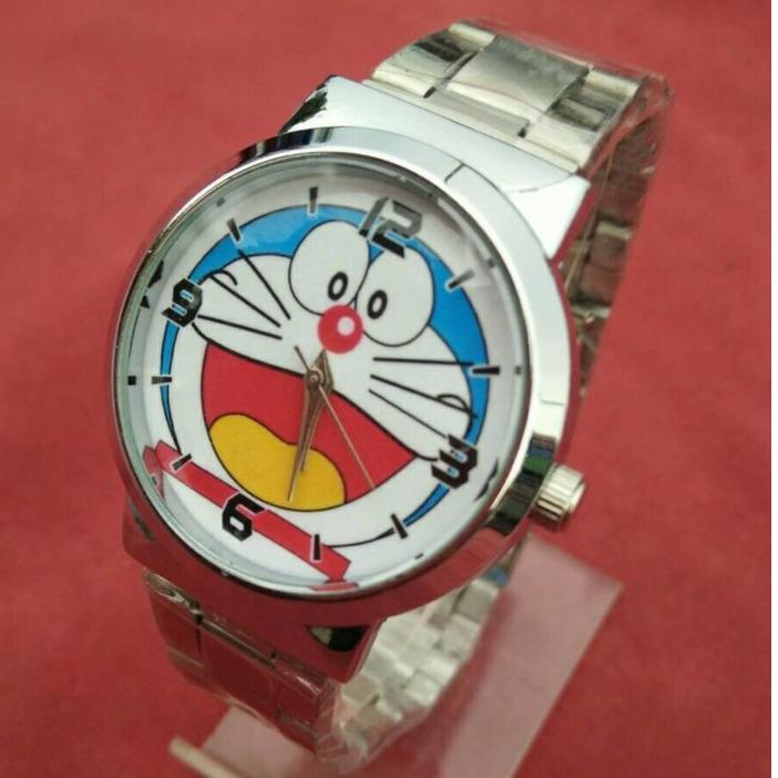 Jam Tangan wanita Karakter fashion Doraemon