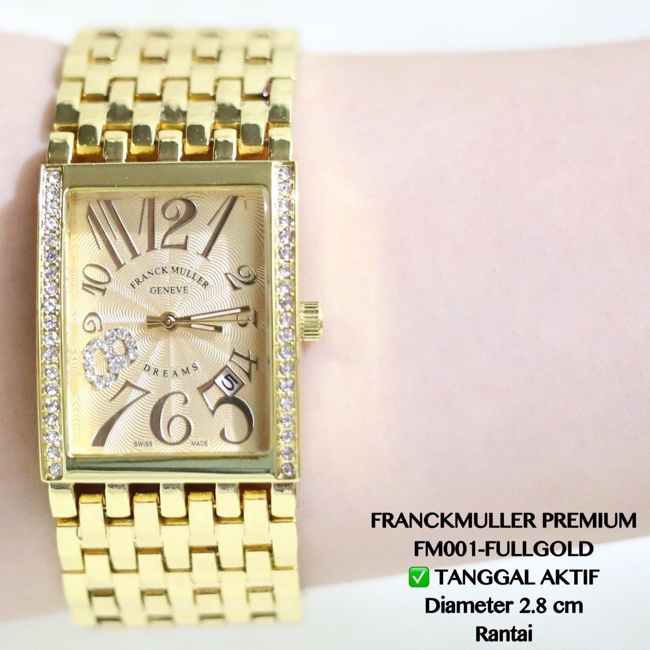Jam Tangan Model FRANCK MULLER Mewah Cantik F0723