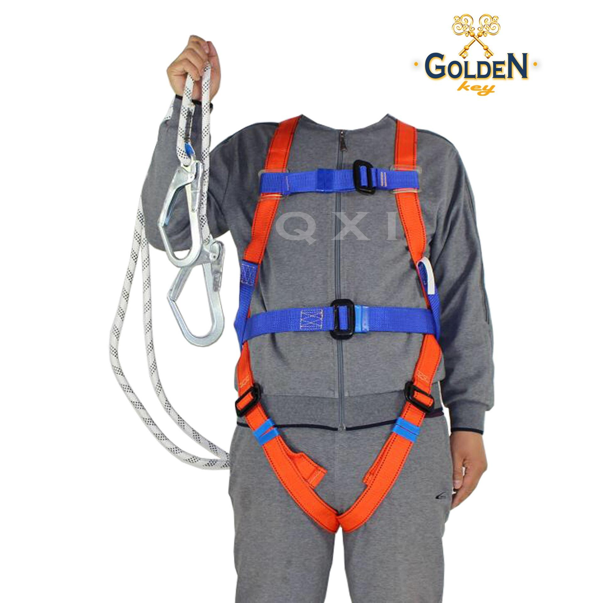 Buy Sell Cheapest Full Body Harness Best Quality Product Deals Safety Belt Sabuk Pengaman Single Big Hook Besar Double