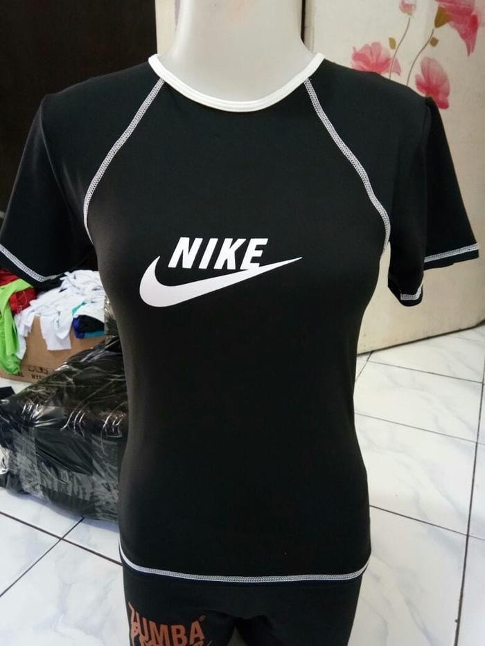 Kaos Adidas & Nike Wanita Lengan Pendek