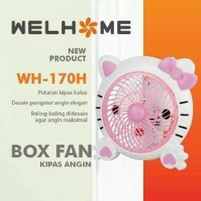 kipas angin box fan ukuran 10