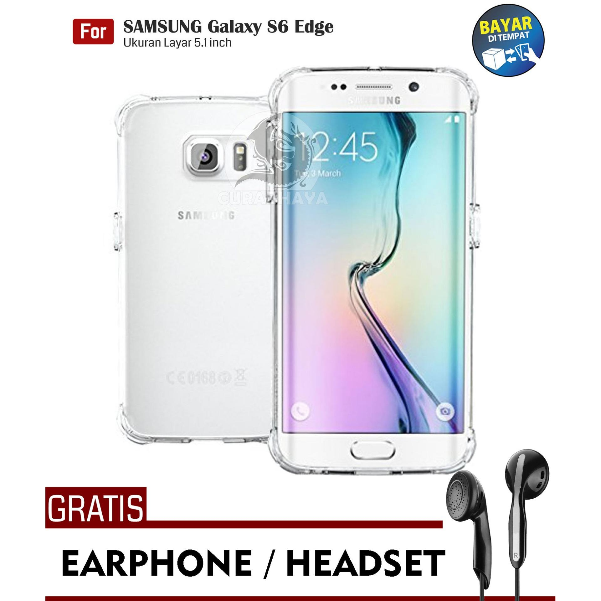 AirShock Samsung Galaxy S6 Edge (G925) / Duos | Anti Crack Premium Softcase Cushion