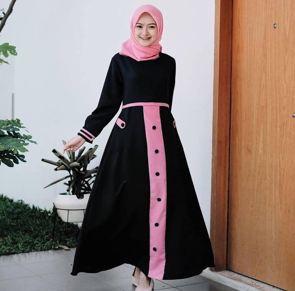 gamis muslimah TIA DRESS baju panjang muslim