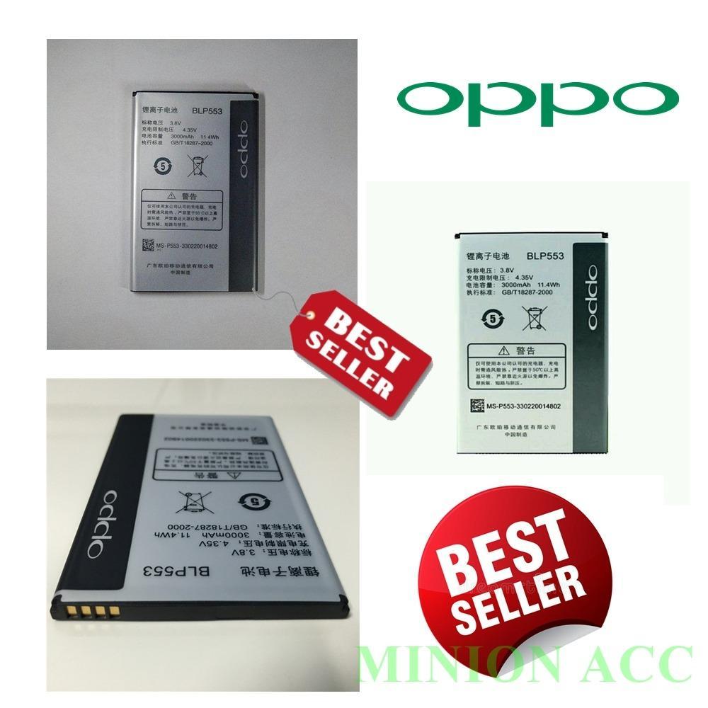 Oppo Baterai / Battery Find way BLP553 Original - Kapasitas 3000mAh [ Minion Acc ]