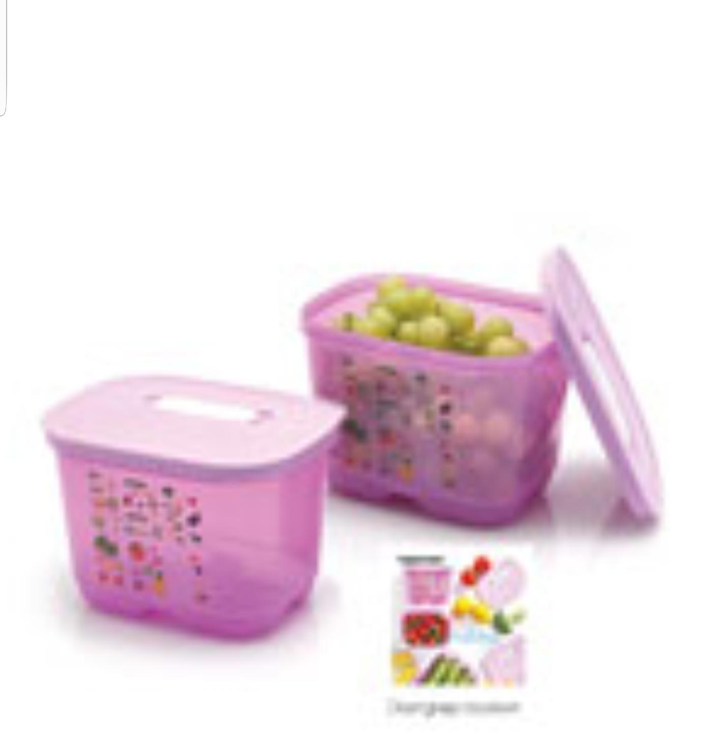 Tupperware Ventsmart 1,8 L (2)-Tempat penyimpan sayuran
