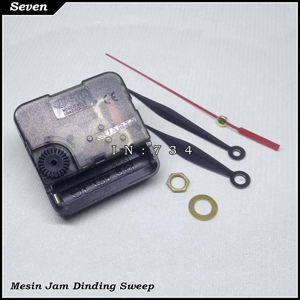 Mesin jam dinding tipe sweep murah 955a892516