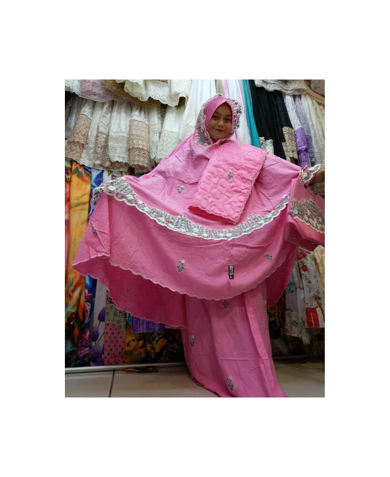 Supplier mukena sutra tanah abang