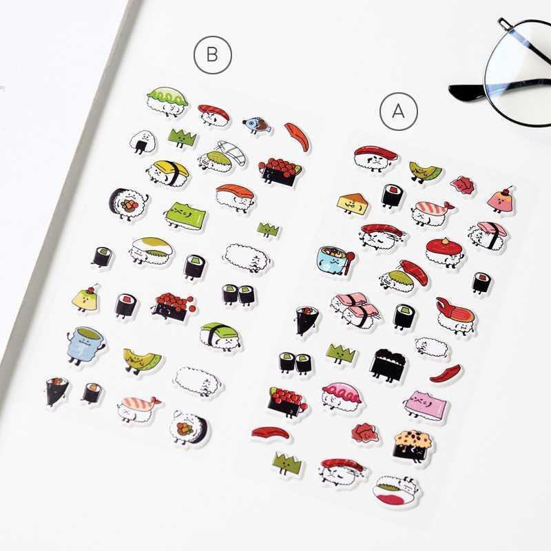 BEST SELLER Sushi Variety Diary Deco Stickers / Sticker Hiasan Buku HARGA TERMURAH